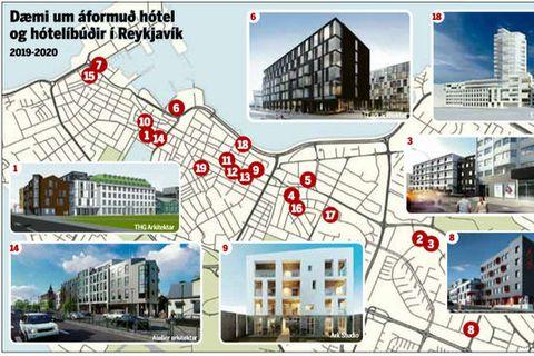 New hotels in Reykjavik.