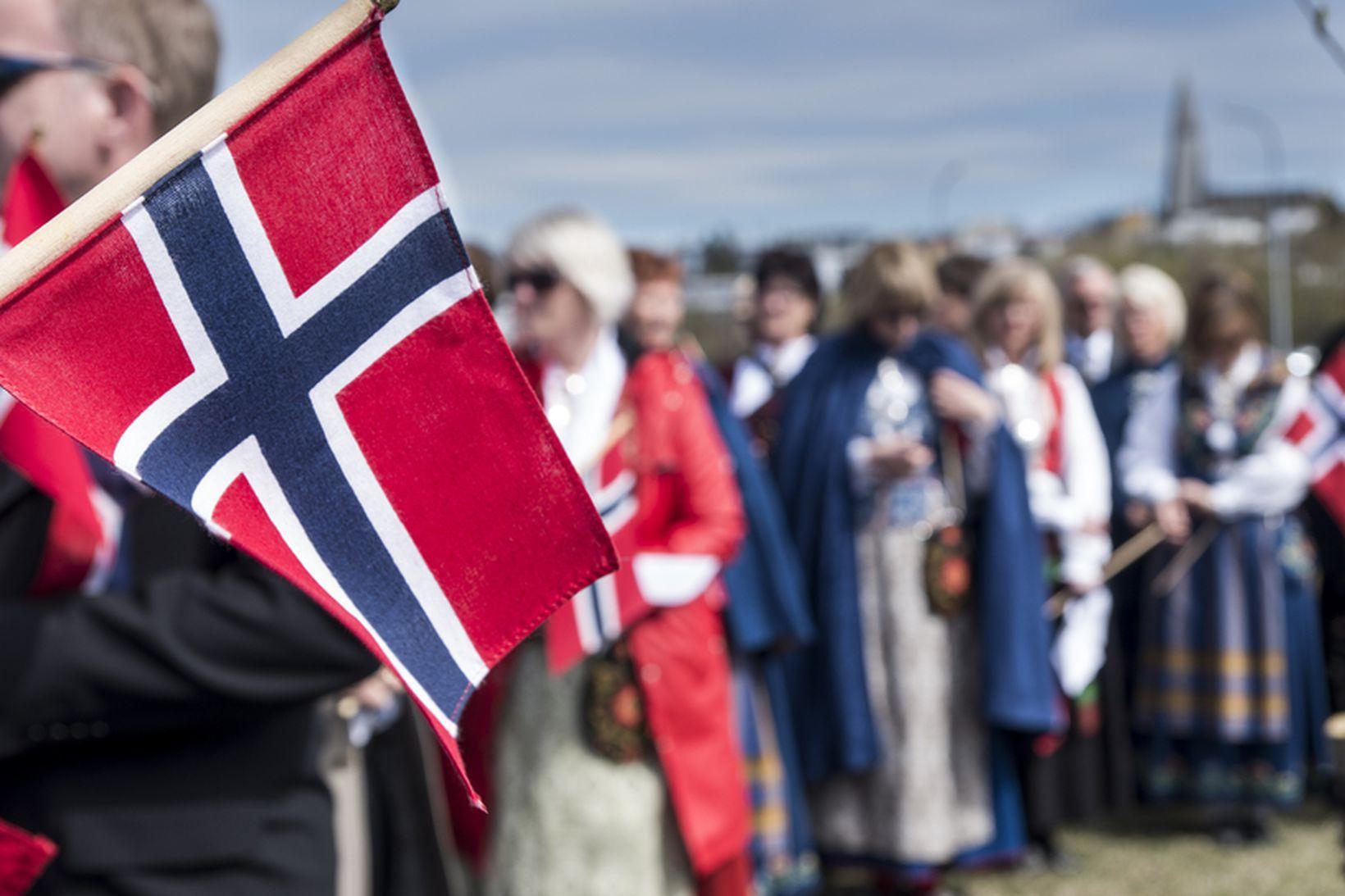 Ísland gæti lent á rauðum lista norskra stjórnvalda fyrr en …