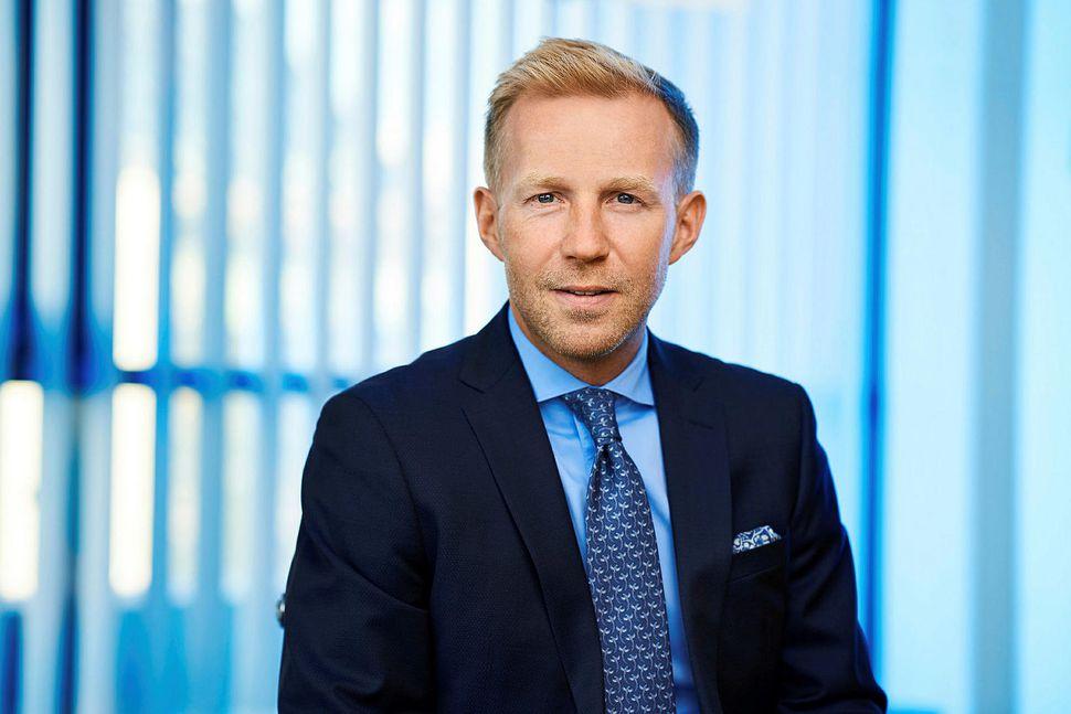 Benedikt Gíslason, forstjóri Arion banka.