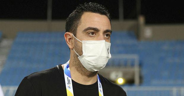 Xavi hefur stýrt Al-Sadd í Katar frá árinu 2019.