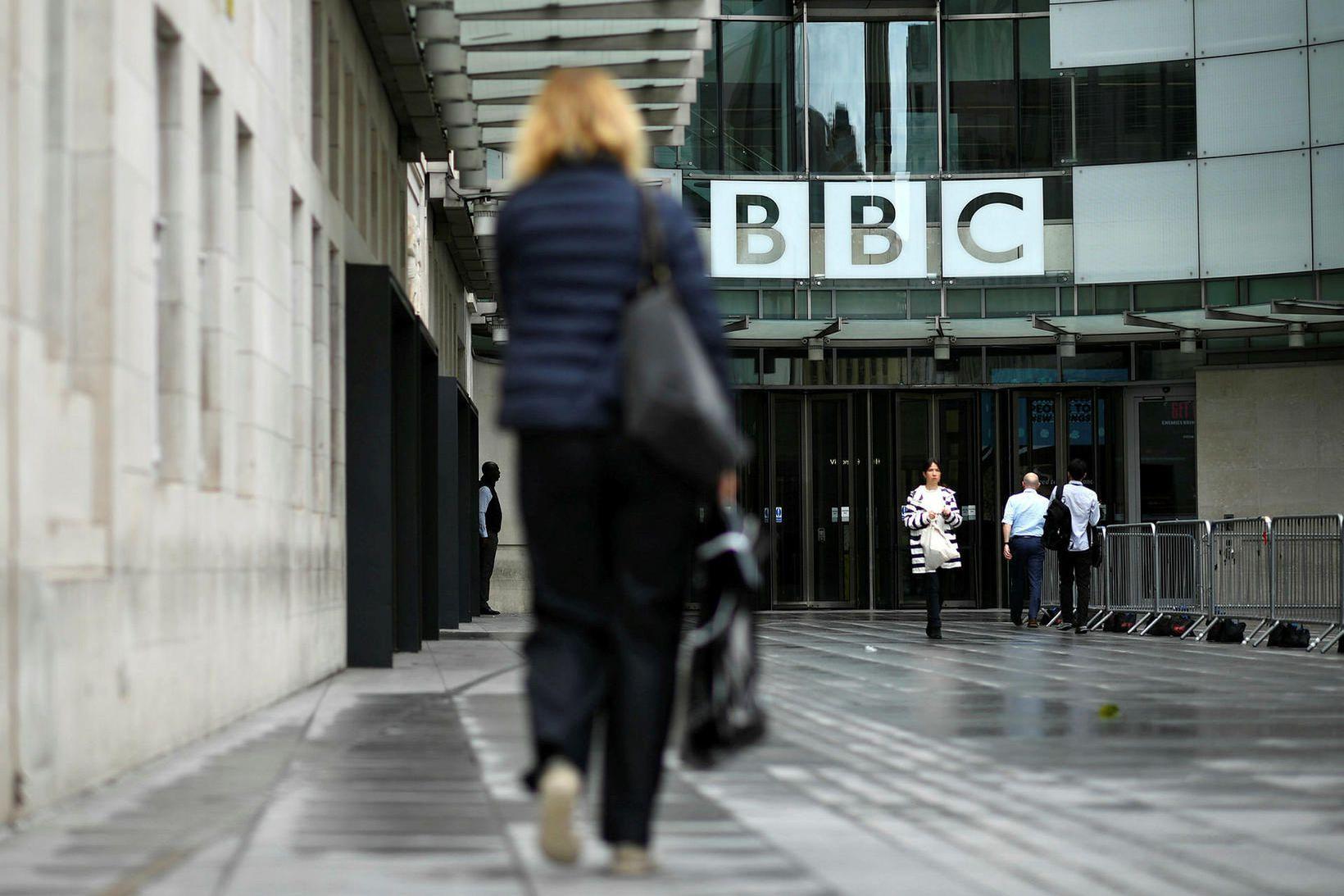 Höfuðstöðvar BBC eru í Portland Place í London. Félagið hefur …