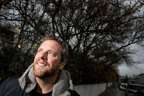 Oliver Luckett lives in Reykjavik and got married to his partner Scott Guinn on Saturday.