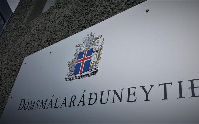 Dómsmálaráðuneytið hafnaði framsalsbeiðni albanskra dómsmálayfirvalda árið 2017.