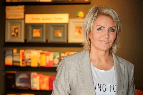 Linda Baldvinsdóttir markþjálfi hjá Manngildi .