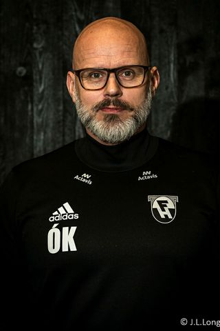 Ólafur Kristjánsson þjálfari FH.