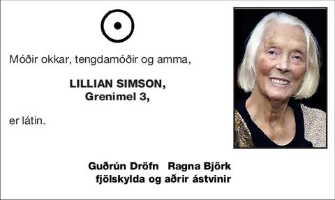 Lillian Simson,