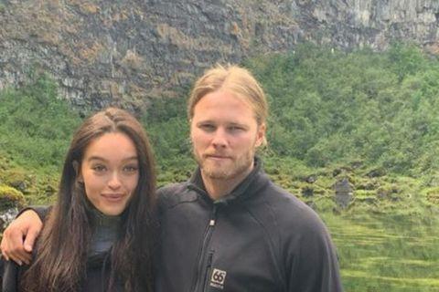 Sophie Gordon birti þessa mynd af sér og Birki Bjarnasyni á Instagram. Myndin var tekin …