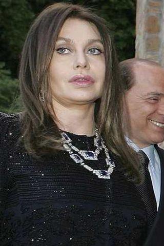 Veronica Lario og Silvio Berlusconi.