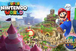 Heimur Super Mario og félaga er væntanlegur í Universal Studios í Japan og Orlando.