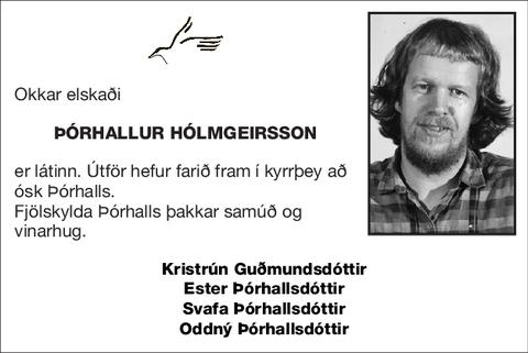 Þórhallur Hólmgeirsson