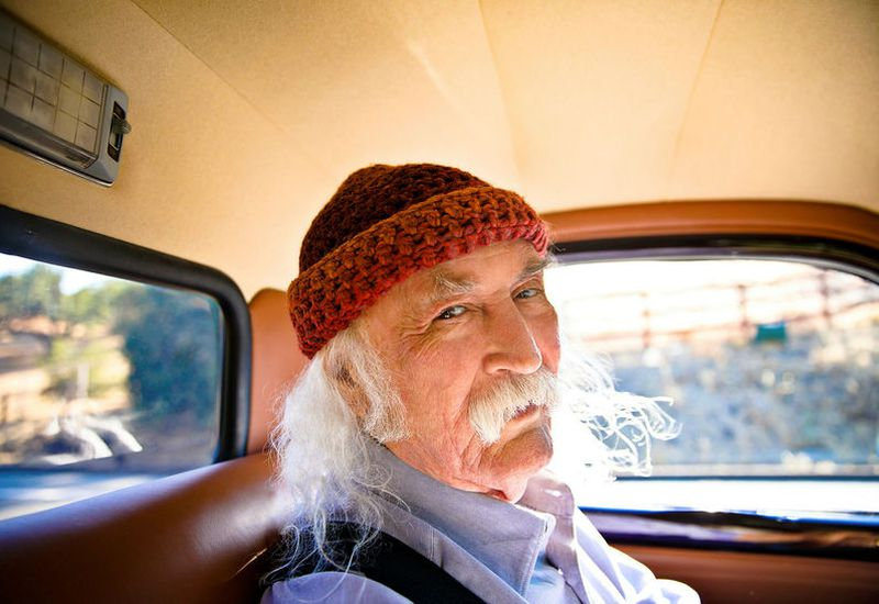 David Crosby is 77 years old and still going strong.