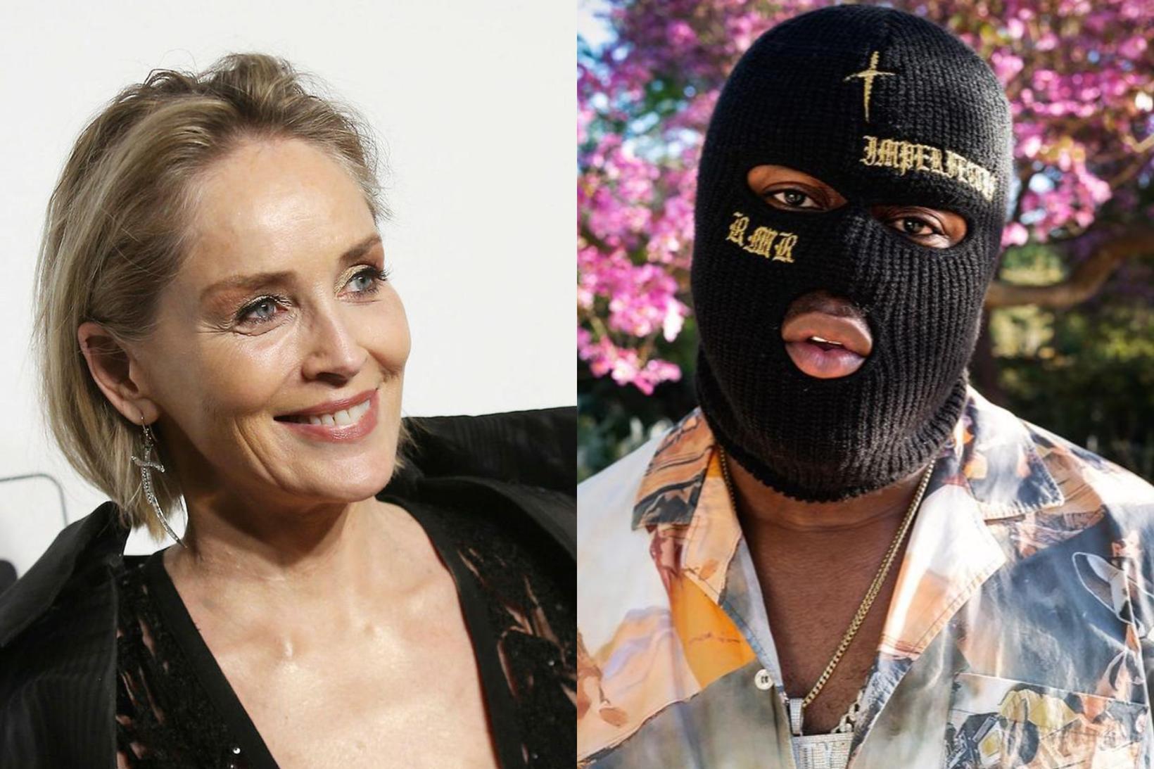 Sharon Stone og RMR eru að stinga saman nefjum.