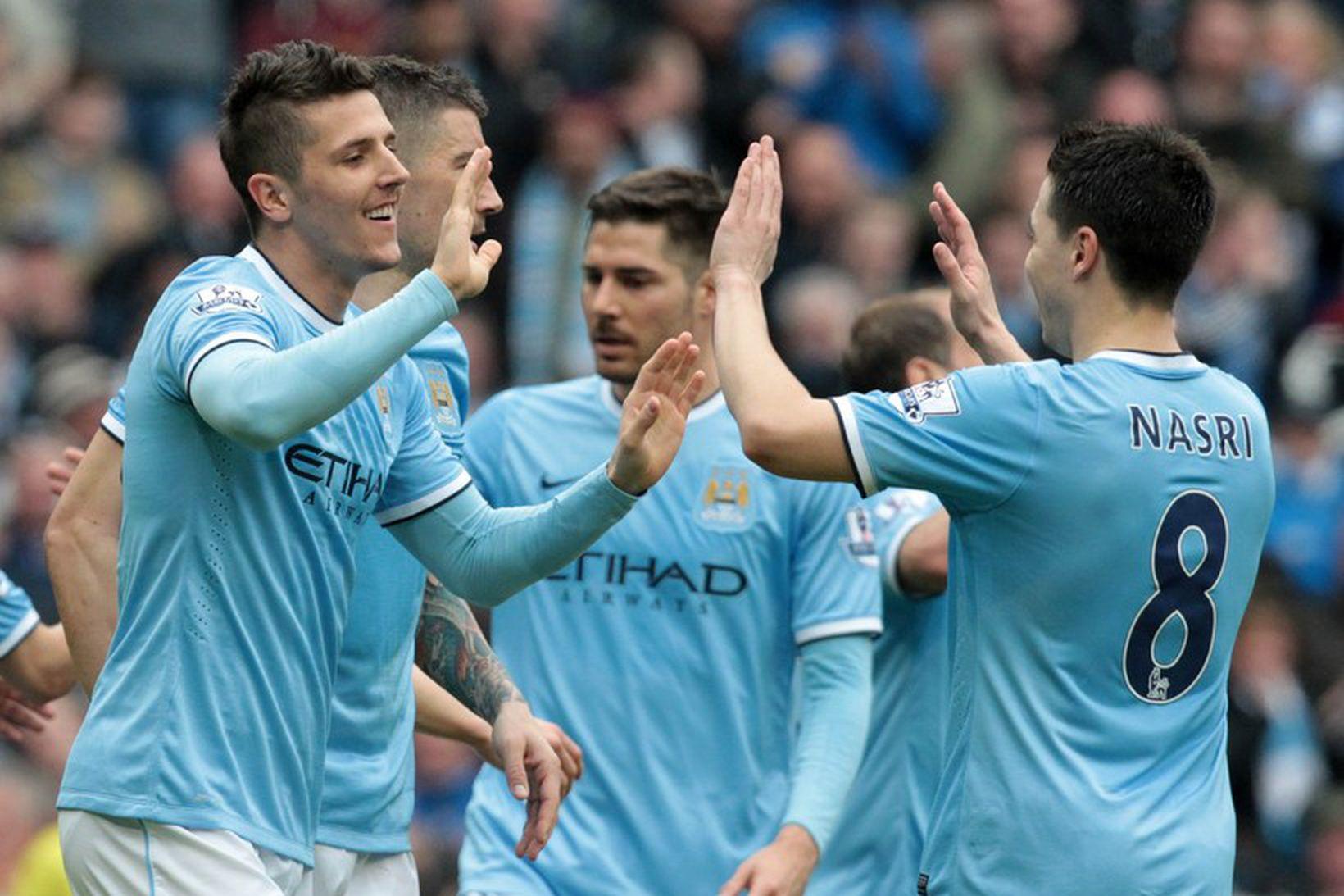 Manchester City er með dýran leikmannahóp.