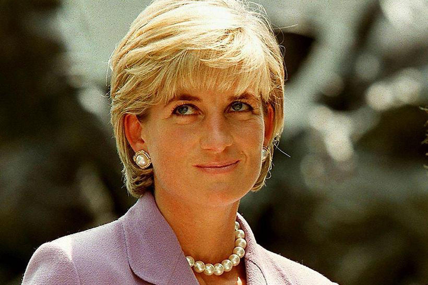 Díana prinsessa 17. júní árið 1997.