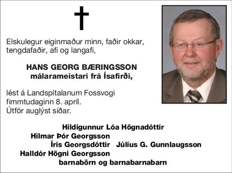 Hans Georg Bæringsson