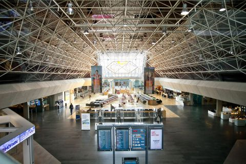 Millions of passengers use KEF airport every year.