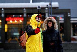 Áberandi mest lækkun er á veltu greiðslukorta frá Norður-Ameríku, en bæði bandarísk og kanadísk kortavelta ...