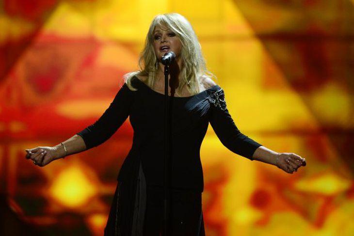 Bonnie Tyler var fulltrúi Bretlands í ár.