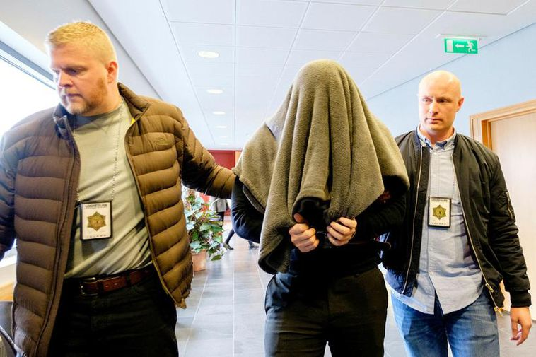 Thomas Olsen at the Reykjanes district court last year. He was sentenced to 19 years ...