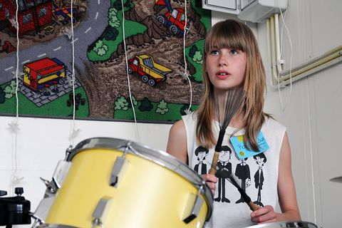 Stelpur rokka! (Girls Rock! Iceland) is a music camp for girls that provides an empowering platform for young girls to enter the music business.