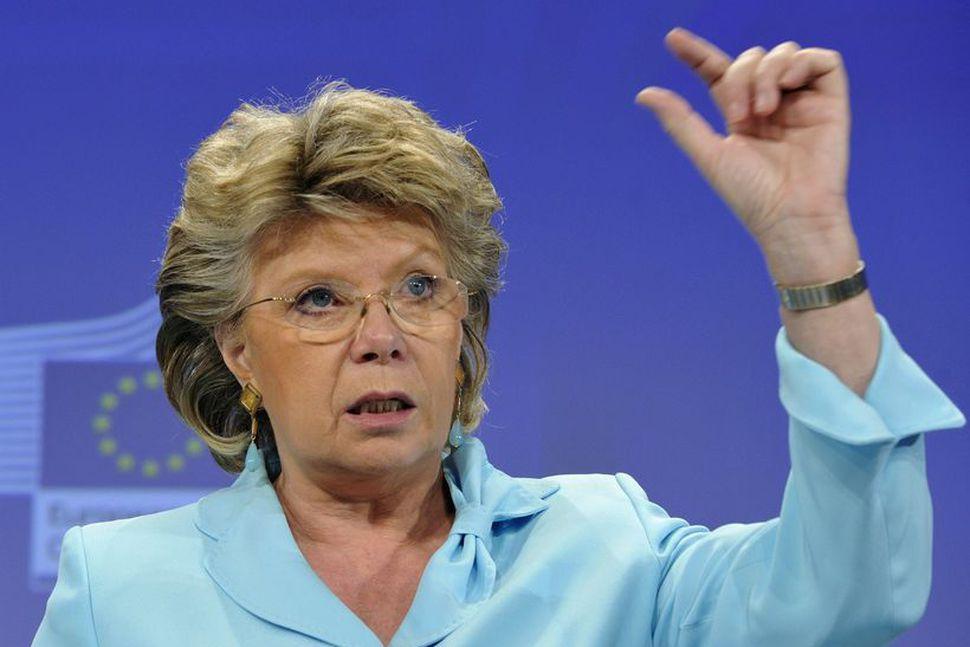 Viviane Reding, dómsmálastjóri Evrópusambandsins og varaforseti framkvæmdastjórnar sambandsins.