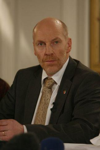 Steingrímur J. Sigfússon, fjármála-, landbúnaðar- og sjávarútvegsráðherra.