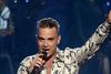 Robbie Williams flúði til fjalla