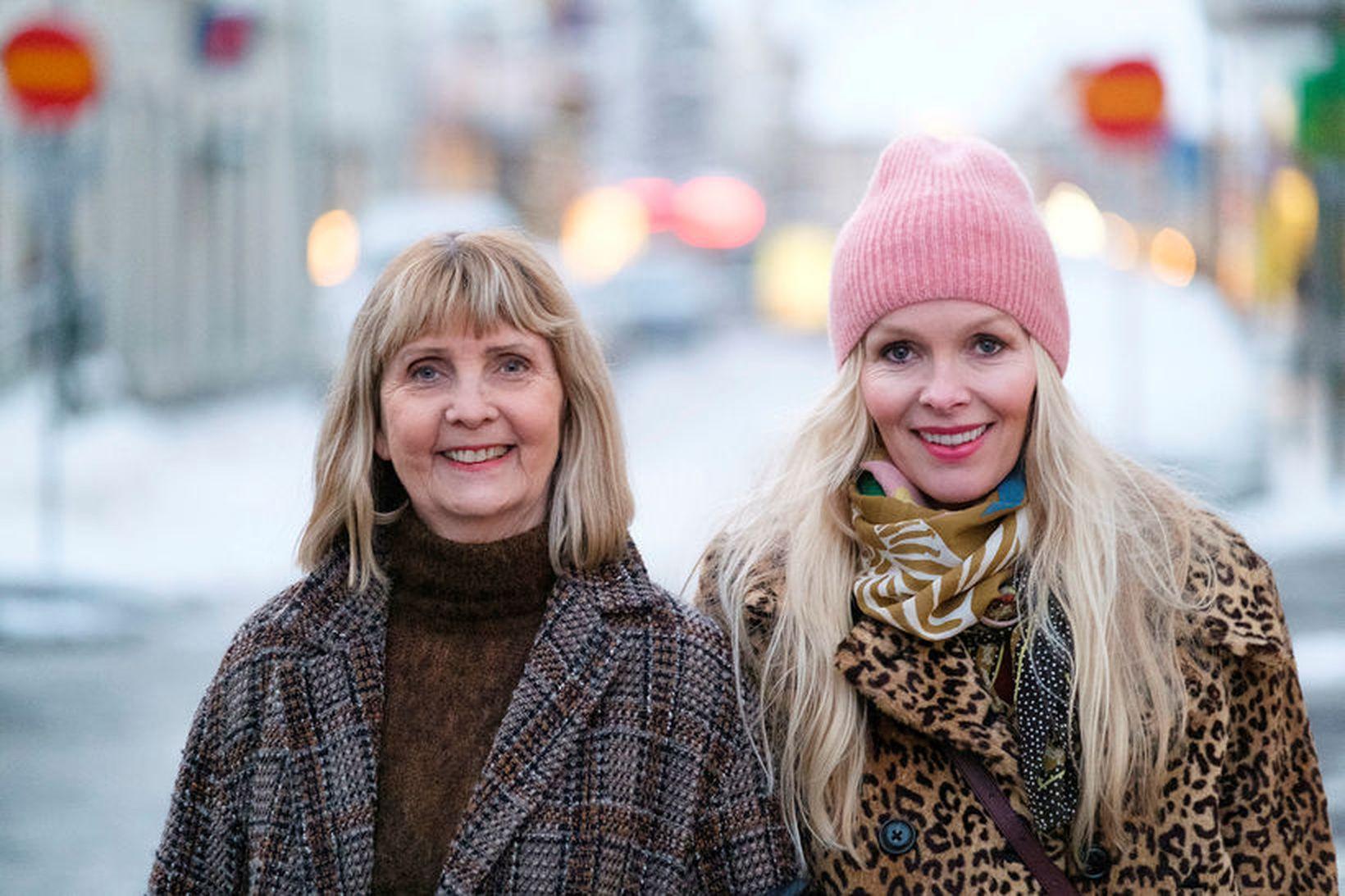 Ásthildur Kjartansdóttir og Elma Lísa Gunnarsdóttir.