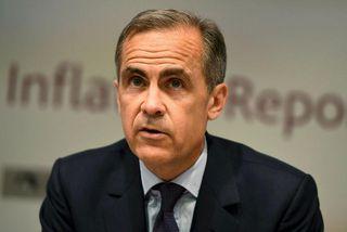 Mark Carney, bankastjóri Englandsbanka, virðist hafa snúið við blaðinu þegar kemur að fyrirhugaðri útgöngu Bretlands ...