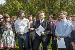 Meirihluti í Reykjavík myndaður á Klambratúni eftir síðustu sveitastjórnarkosningar.