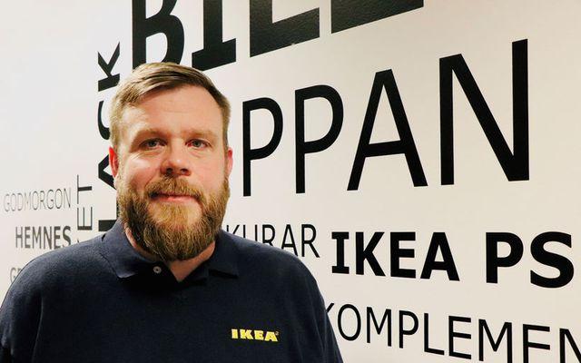 Stefán Rúnar Dagsson, framkvæmdastjóri IKEA.