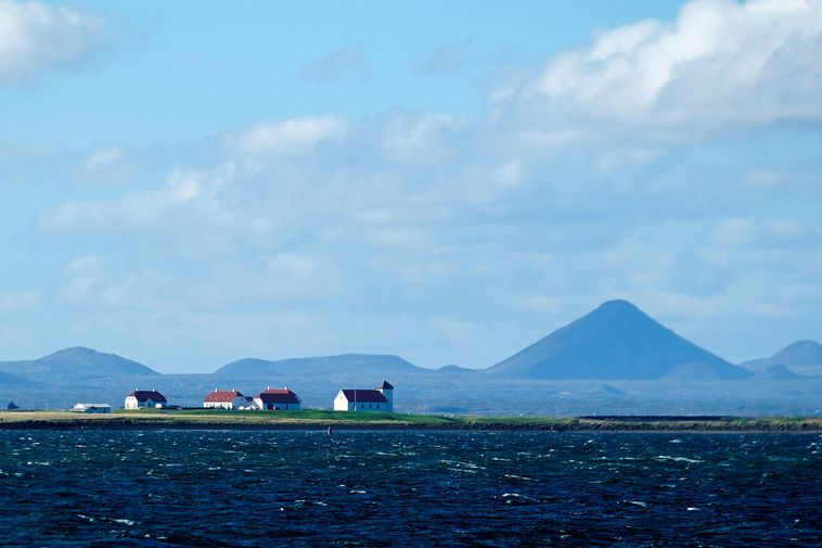 Keilir mountain in the Reykjanes peninsula.