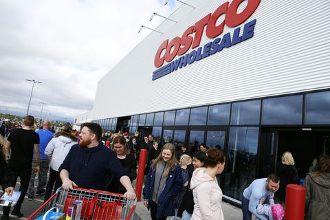Costco yesterday.