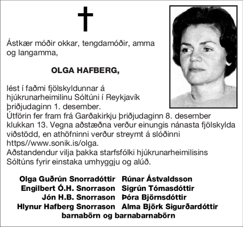 Olga Hafberg,