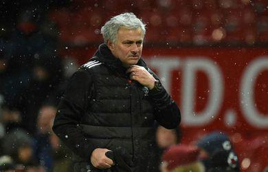 Mourinho alls ekki sáttur eftir sigurinn