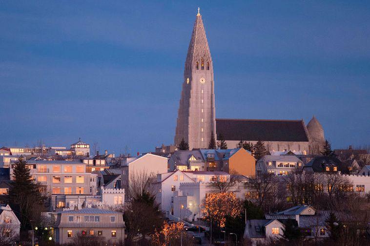 Reykjavik, an expanding city.