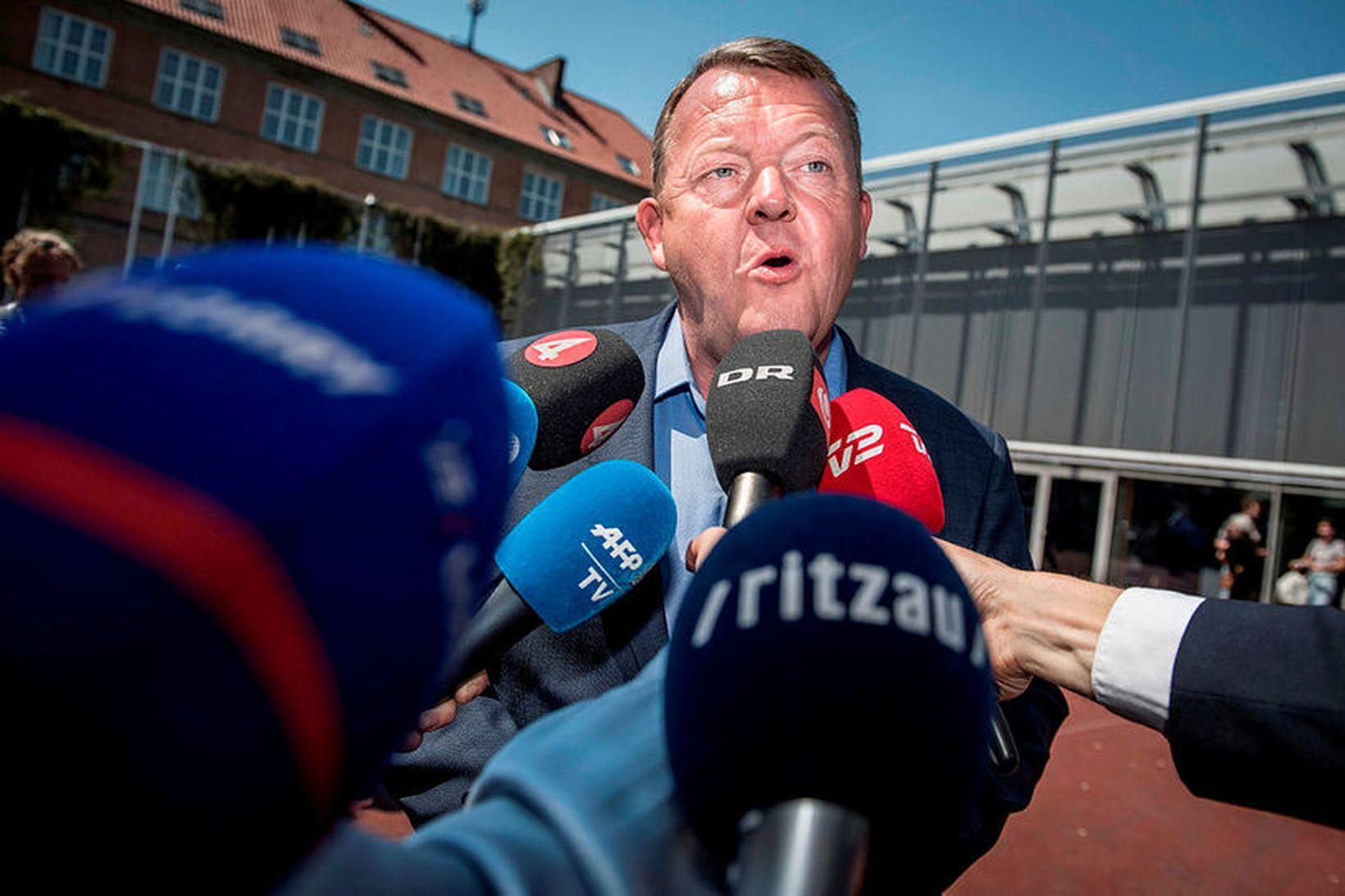 Lars Løkke Rasmussen, fyrrverandi forsætisráðherra Danmerkur.