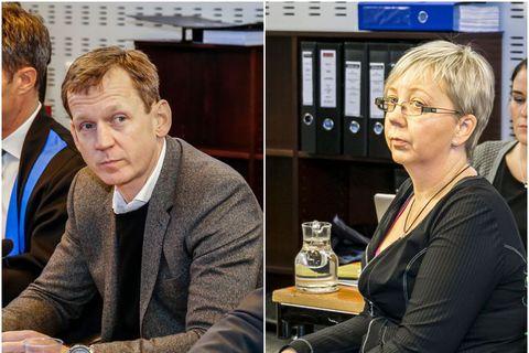 Hreiðar Már Sigurðsson and Guðný Arna Sveinsdóttir who also worked for Kaupþing are charged with fraud and inside trading.