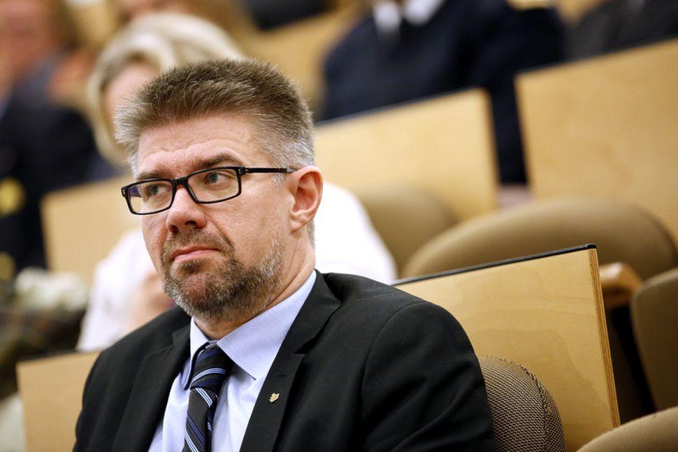 Gunnar Bragi Sveinsson, utanríkisráðherra.