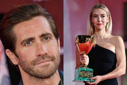 Jake Gyllenhaal og Vanessa Kirby eru farin af landinu.