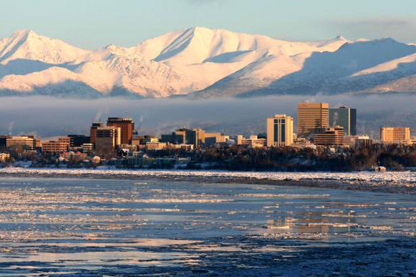 Ancorage, stærsta borg Alaska.