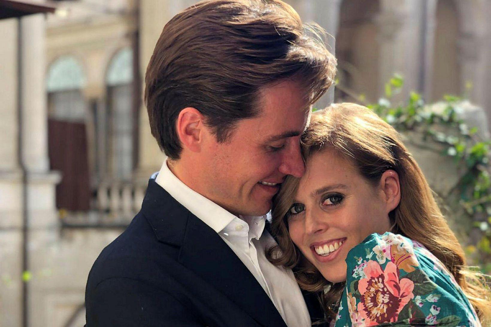 Edoardo Mapelli Mozzi og Beatrice prinsessa ganga í það heilaga …
