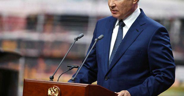 Vladimir Putin, forseti Rússlands.