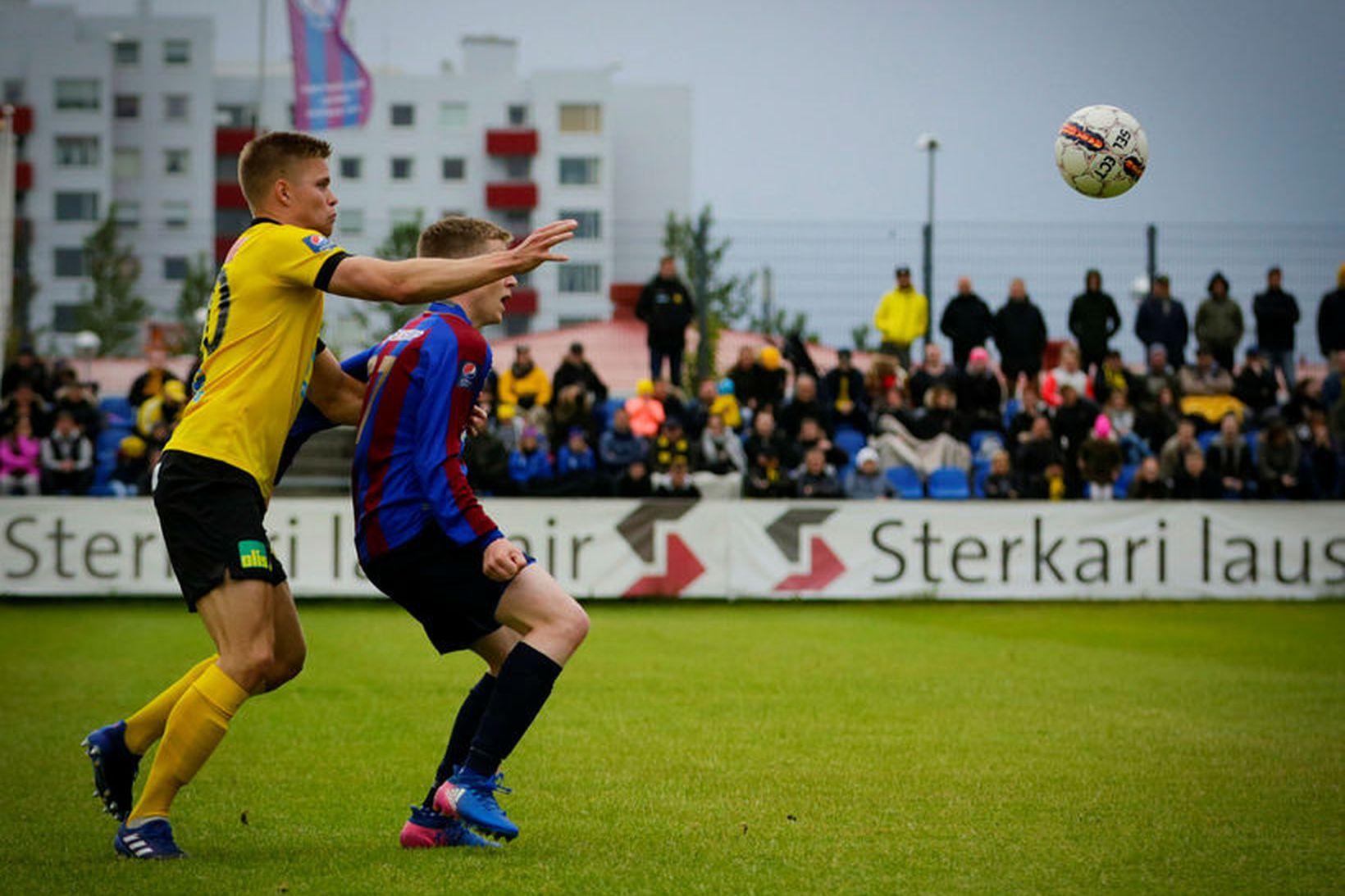 Sævar Atli Magnússon skoraði tvö.