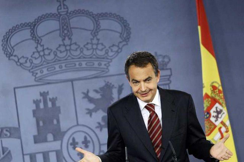 Jose Luis Rodriguez Zapatero, forsætisráðherra Spánar.
