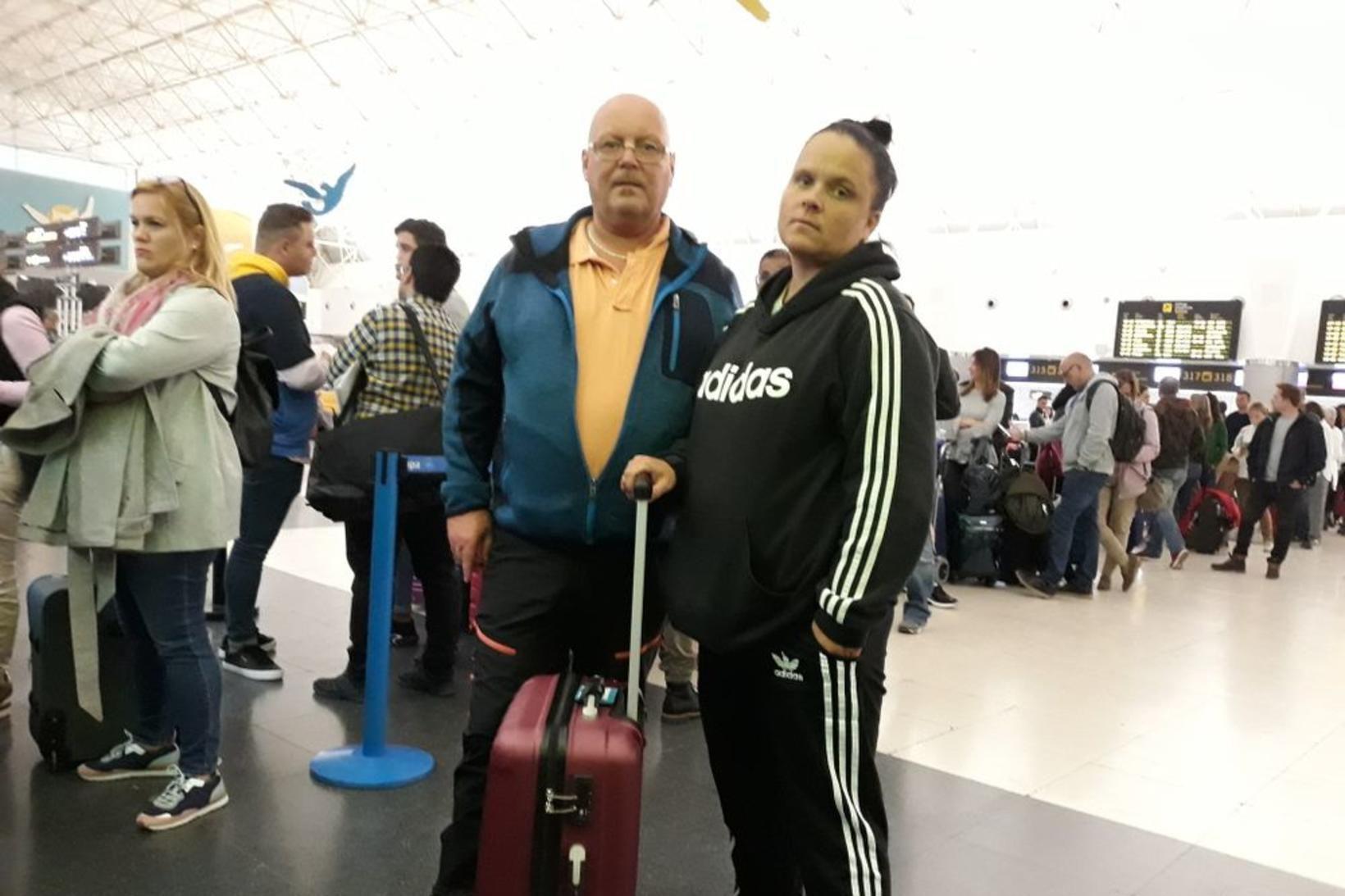 Ronny Jensen og Veronica Eian, stirð í baki og úfin …