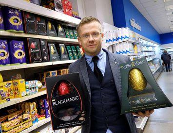 Gunnar heldur sjálfur mikið upp á After Eight-eggið.