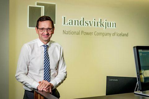 Hörður Arnarson, forstjóri Landsvirkjunar.