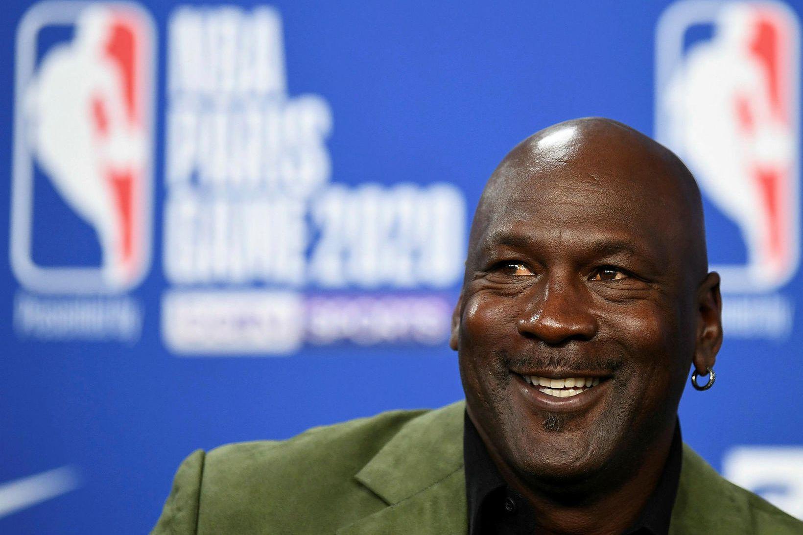 Michael Jordan hefur tjáð sig um morðið á George Floyd.