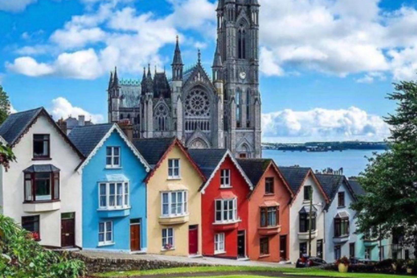 Cork á Írlandi er vinaleg borg.